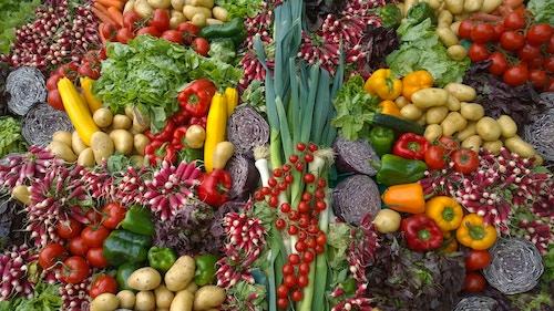 kleuren groenten