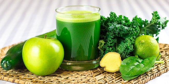 Groentesap recept - Mean Green