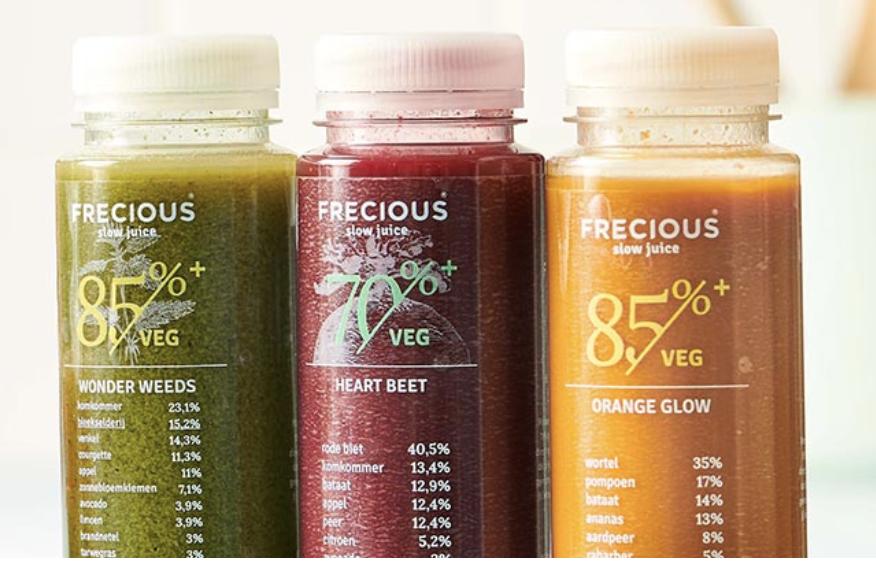 Orange glow juices frozen frecious